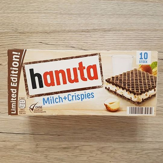 Ferrero Hanuta Milk and Crispies 10-pack – Limited Edition