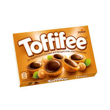 Storck Toffifee Whole Hazelnut in Nougatcream Filled Caramel