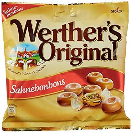 Werther's Original Sahnebonbons Candies