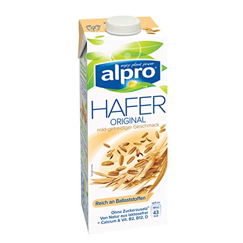 Alpro Hafer Drink Original – 1 l laktosefrei, vegan
