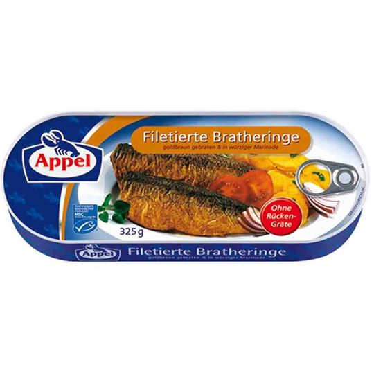 Appel Filetierte Bratheringe (Filleted Fried Herrings)