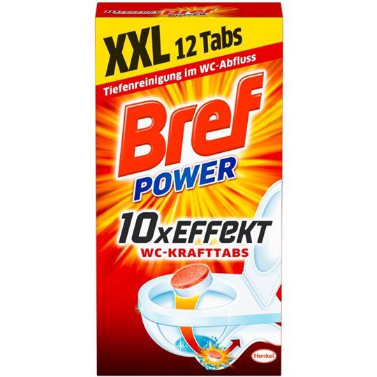 Bref Power 10x Effekt WC-Krafttabs 12 Stück
