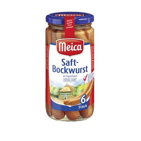 Meica's Saft Bockwurst 6 Pcs
